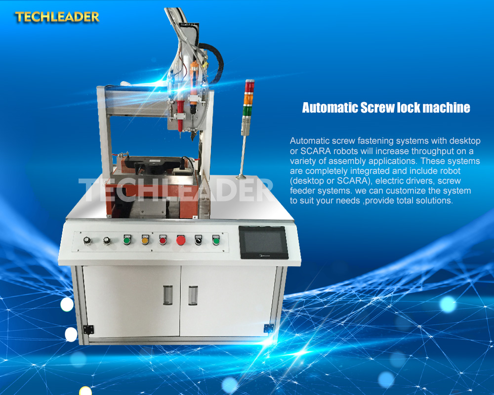 automatic screw feeder machine