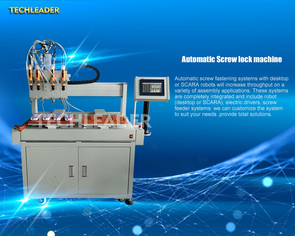 Automatic Screw Feeder & Locking Machine manufacturer
